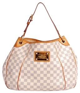 Louis Vuitton Damier Leather Pm Hobo Bag