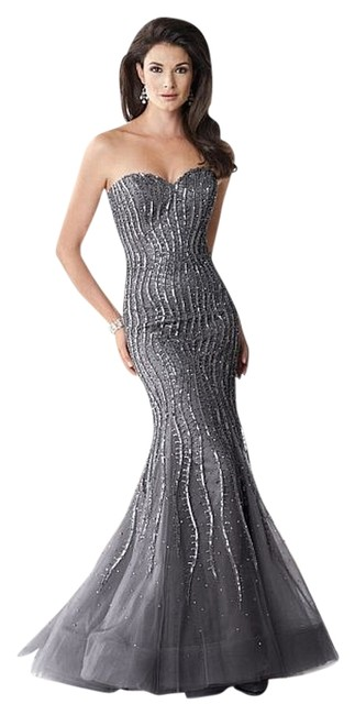 Ivonne D Mob Mother Of The Bride Wedding Bride Sequin Evening Dress