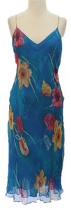 Blue Maxi Dress by Ralph Lauren Turquoise Purple
