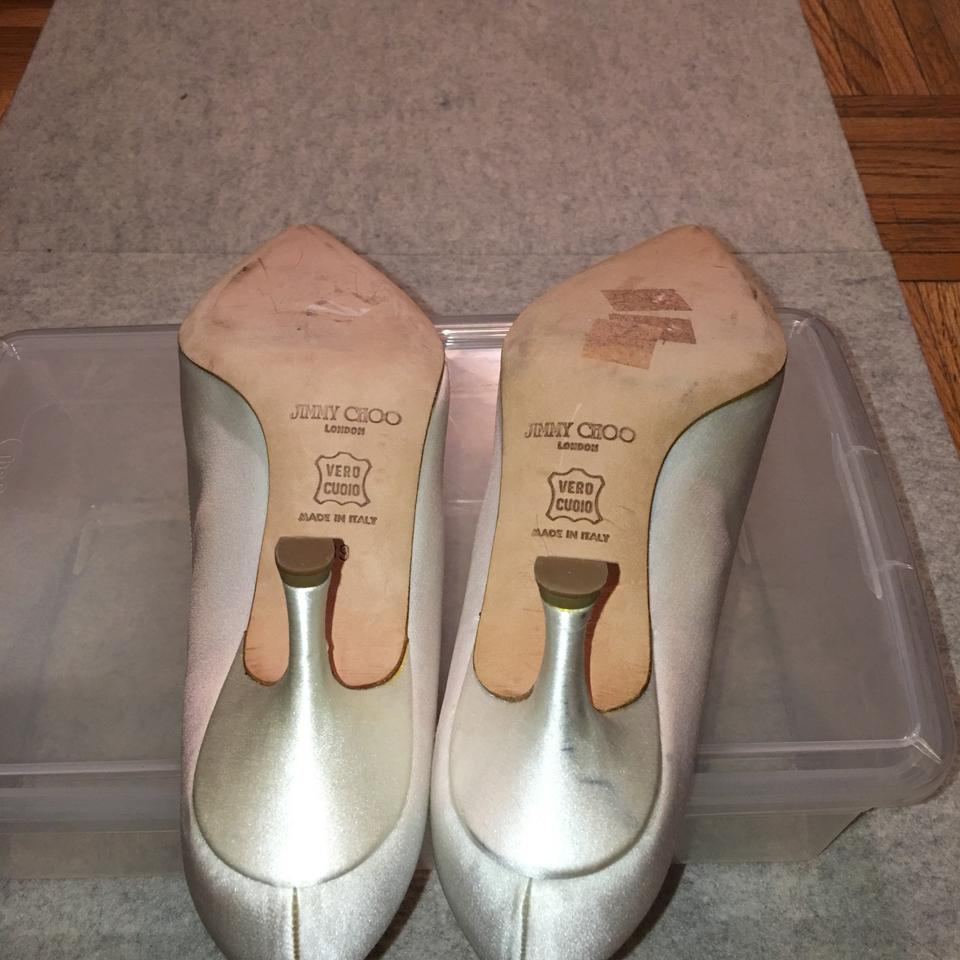 Jimmy Choo Jimmy Ivory Choo Pumps Ivory pqYqzFwan