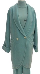 Escada Aqua Pants Sweater Pea Coat