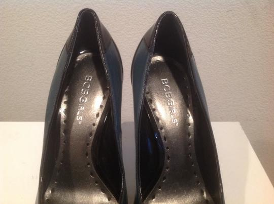 BCBGeneration Green and black leather patent leather Pumps