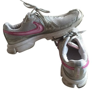 Nike White, grey and pink Athletic