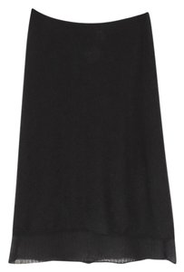 TSE Double Layered Skirt black & white
