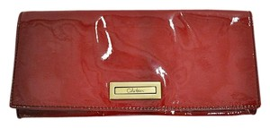 Cole Haan Patent Leather candy apple red Clutch