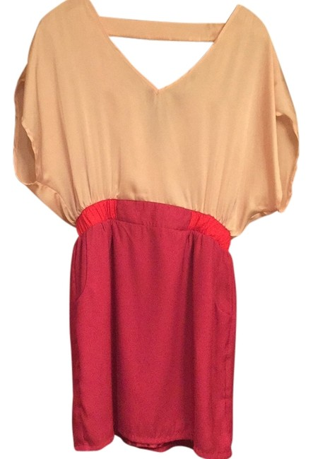 Preload https://item2.tradesy.com/images/pink-on-top-bottom-is-magenta-with-orange-red-on-sides-of-waistbsnd-mini-short-casual-dress-size-8-m-11849071-0-1.jpg?width=400&height=650