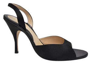 Cole Haan Peep Toe Heels black Pumps