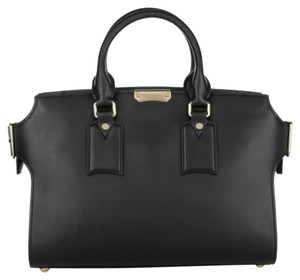 Burberry Leather Tote in Black