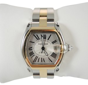 Cartier Cartier Men's Stainless Steel 18K Gold Roadster Automatic Watch