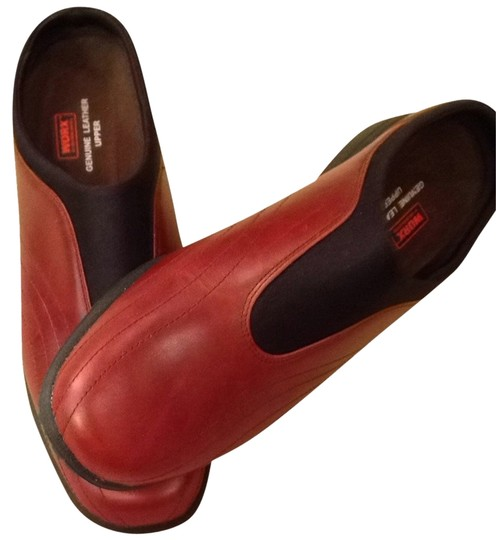 Red Wing Red/Brown Mules