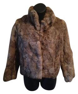 Split End Ltd. Rabbit Vintagefur Vintage Fur Fur Coat
