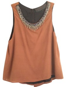 Leyendecker Top Brown with navy accents