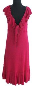 Diane von Furstenberg short dress Fuchsia Fuschia Furstenburg on Tradesy