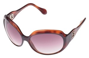 Fendi Fendi FS 408 238 Tortoise Brown Gradient Plastic Sunglasses