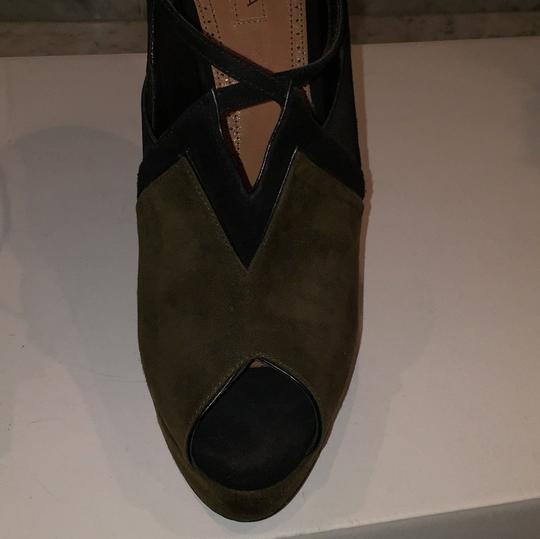 ALAA Black and green Boots Image 7