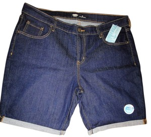 Old Navy Bermuda Shorts Dark Blue