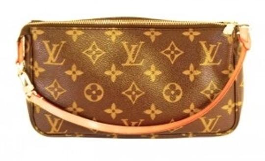 Preload https://item3.tradesy.com/images/louis-vuitton-pochette-brown-monogram-coated-canvas-clutch-11852-0-0.jpg?width=440&height=440