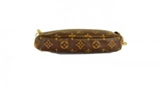Louis Vuitton Pouchette Brown Monogram Clutch
