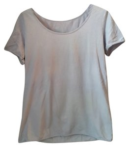 American Apparel T Shirt Pale Blue