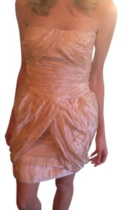Ralph Lauren Black Label short dress Peach on Tradesy
