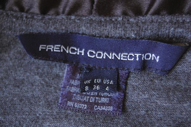 French Connection short dress grey and black on Tradesy