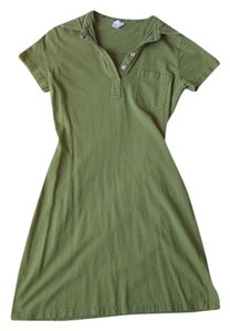 American Apparel short dress green on Tradesy