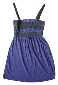 Forever 21 short dress black and purple on Tradesy