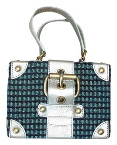 Marc Jacobs Bags Trunk Bags Box Bags Satchel in silver mint
