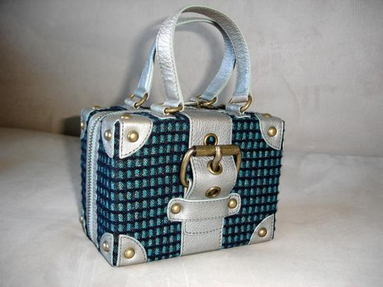 Marc Jacobs Bags Trunk Bags Box Bags Satchel in silver mint Image 1