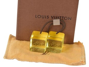 Louis Vuitton reduced!! [Authentic] Louis Vuitton Yellow Hair Cube Hair Accessories