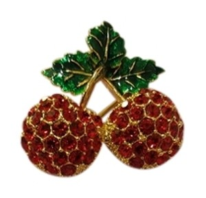 & Other Stories Stylish cheery brooch