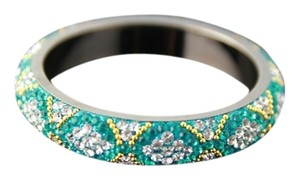 Other Sea Green Swarovski Bangles pair