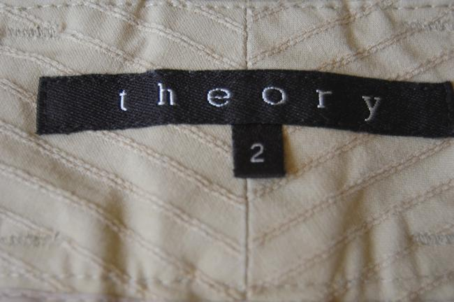 Theory Boot Cut Pants beige