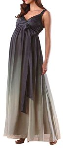 A Pea In The Pod Maternity Empire Waist Gown Dress