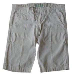 Hollister Capris white