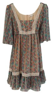 Jovovich-Hawk for Target short dress Multi Flowy Boho Bohemian on Tradesy