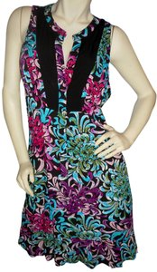Nicole Miller short dress Jewel tones on Tradesy