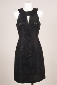 Michael Kors Black Metallic Dress