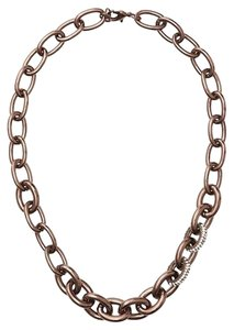 Ann Taylor LOFT Short Chain and Pave Link Necklace