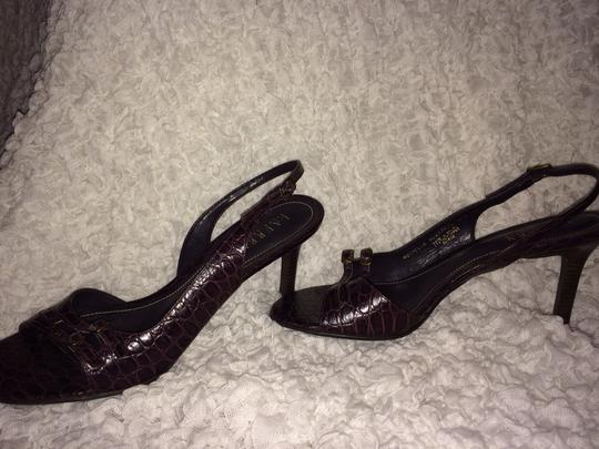 Ralph Lauren Dark Purple Sandals