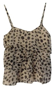 Divided by H&M Top White with Black Spots