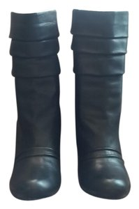 Jessica Simpson Soft Supple Leather Black Boots