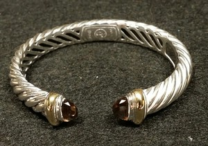 David Yurman David Yurman Waverly bracelet with Smoky Quartz