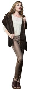 Neiman Marcus Knitted Mink Stole