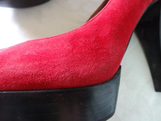 Jessica Simpson Red Hot Pumps
