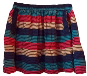 Urban Outfitters Mini Skirt Striped