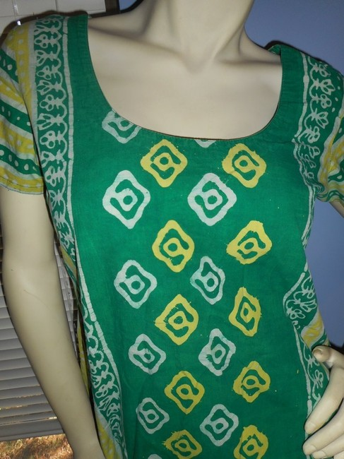 Other short dress Green and Yellow on Tradesy Image 3