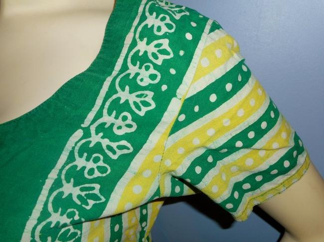 Other short dress Green and Yellow on Tradesy Image 4
