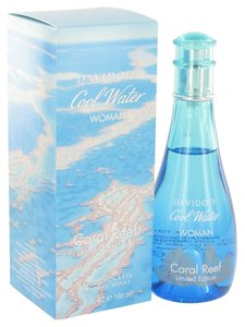 davidoff COOL WATER CORAL REEF by DAVIDOFF ~ Women's Eau de Toilette Spray (Limited Edition) 3.4 oz