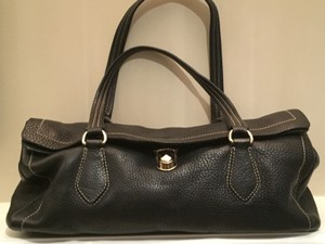 Prada Leather Classic Soft Satchel in Black